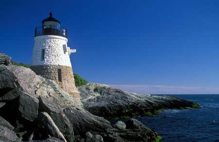 Hill Lighthouse in Newport, Rhode Island