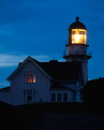 guiding light: Cape Elizabeth lighthouse is one of the most powerful lighthouses on the Maine coast.