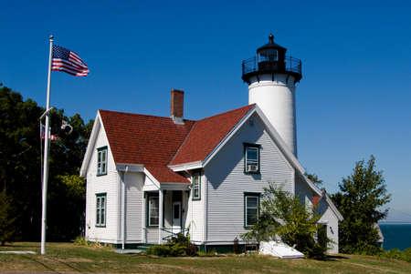 West Chop Lighthouse in Marthas Vineyard, Massachusetts