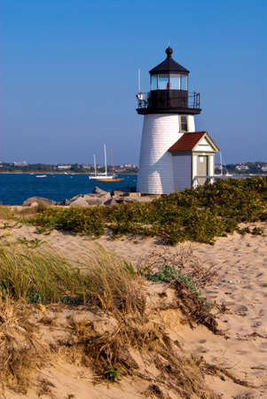 guiding light: Brant Point lighthouse is only 26 feet above sea level, making it the lowest built lighthouse.