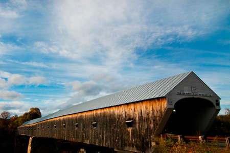 covered bridge: Cornish-Windsor bridge is the longest covered bridge in the country.