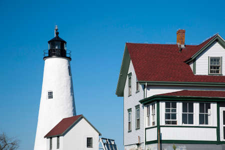 reconstructed: Reconstructed Bakers Island lighthouse is a popular summer attraction.