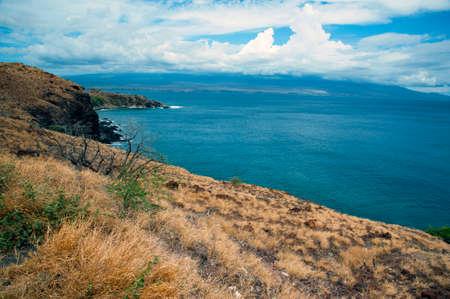 Coastline in Maui Hawaii
