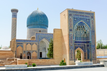 mausoleum: old mausoleum Gor-Emir in Samarkand