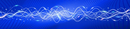 oscillation: Flying wave backgrounds; The blue version A; EPS10