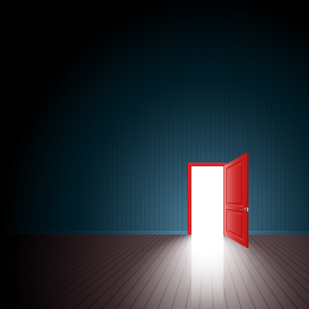 door: The light through the open door Go outside and freedom The chance to reach the final ultimate goal