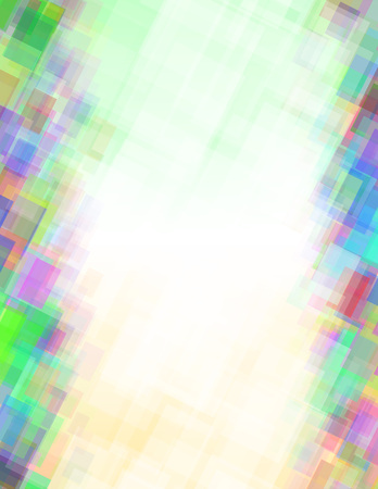 Abstract background from multicolor rectangles