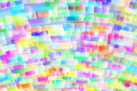large group of objects: Background from multi-colored rectangular shapes; Vector wallpaper