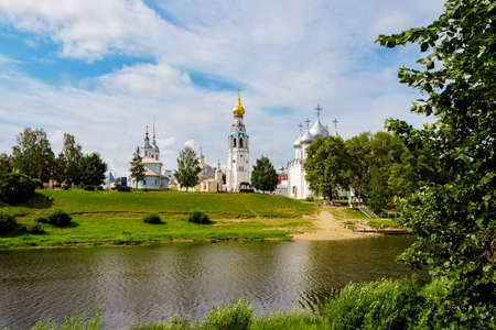 View of Vologda Kremlin from the opposite bank of the river