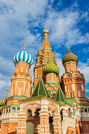 vasily: The Cathedral of Vasily the Blessed in Moscow. Russia