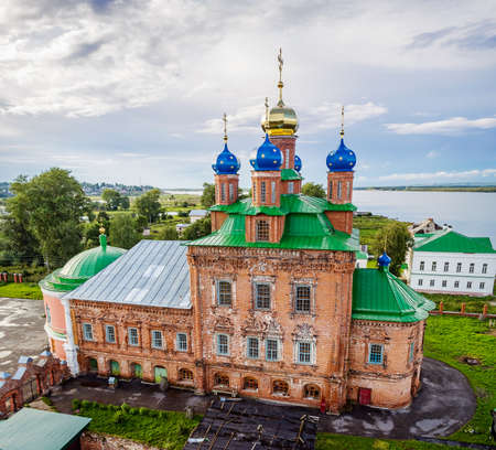 transfiguration: Orthodox Saviour Transfiguration Cathedral in Usolye. Russia