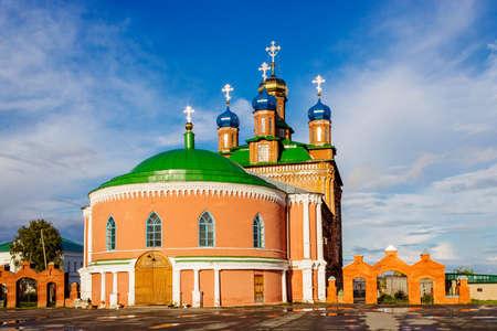saviour: Orthodox Saviour Transfiguration Cathedral in Usolye. Russia