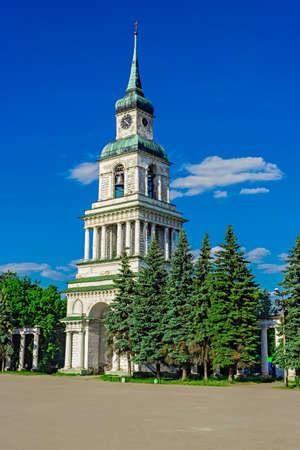 bell tower in slobodsky Stock Photo