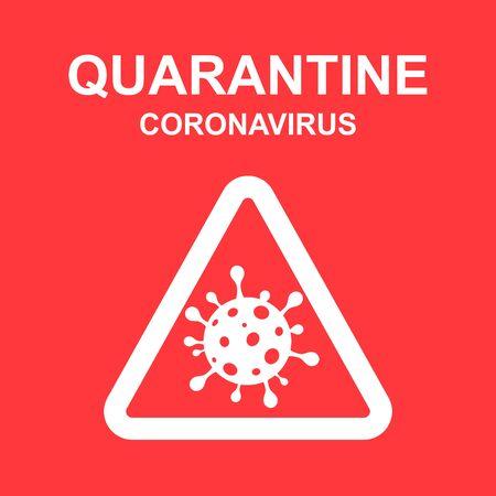 Stay Home quarantine coronavirus epidemic illustration for social media, stay home save lives hashtag. vector 向量圖像