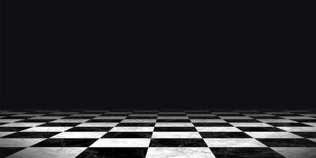 pavimento in marmo a scacchiera