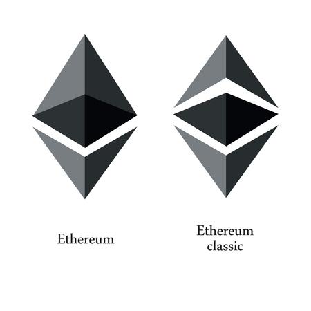 cryptocurrency, Ethereum, vector