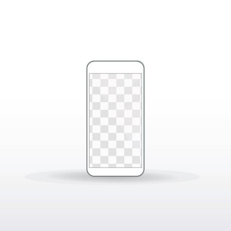 Isolated smartphone in white Фото со стока - 134891690