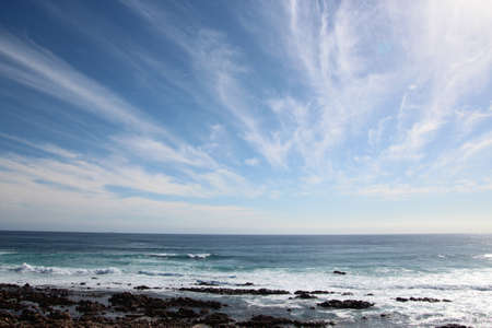 cirrus: High cirrus clouds over the Indian Ocean south western Australia