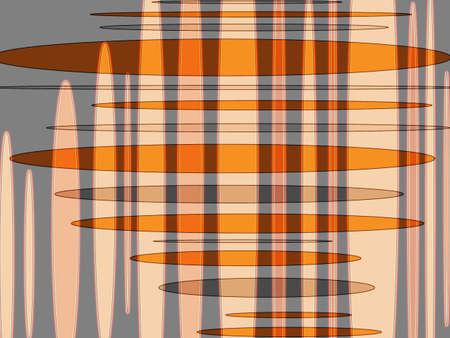 eliptica: Modern amarillo el�ptica, naranja y gris de dise�o abstracto superpuesto Foto de archivo