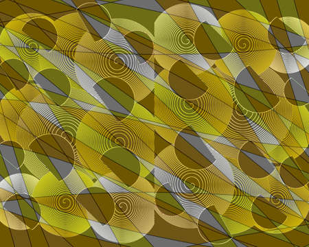 superimposed: Beautiful modern superimposed  abstract design  Stock Photo