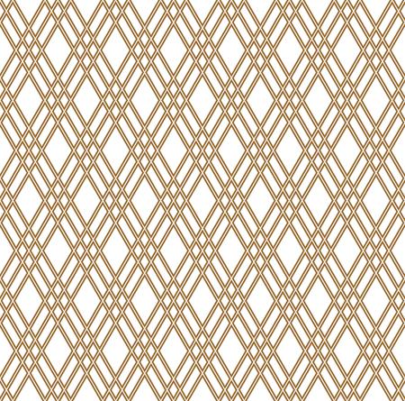 Beautiful pattern japanese shoji kumiko, great design for any purposes. Japanese pattern background vector. Japanese traditional wall, shoji.