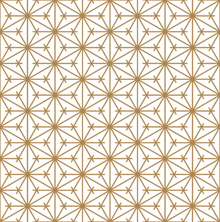 Beautiful Seamless pattern japanese shoji kumiko, great design for any purposes. Japanese pattern background vector. Japanese traditional wall, shoji.Average thickness lines.