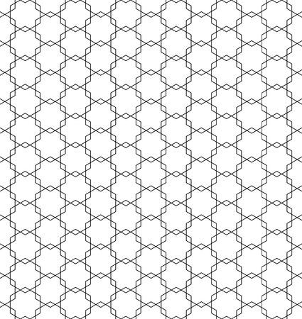 Beautiful pattern japanese shoji kumiko, great design for any purposes. Japanese pattern background vector. Japanese traditional wall, shoji.Fine lines.