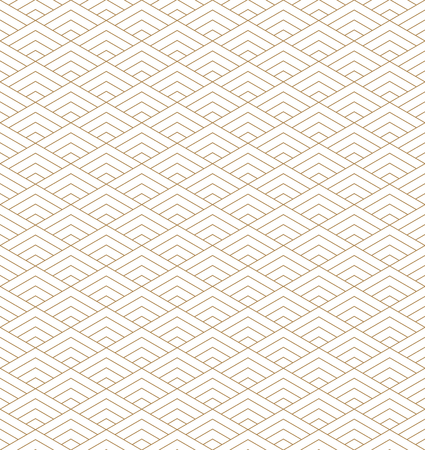 Seamless japanese pattern kumiko for shoji screen, great design for any purposes. Japanese pattern background vector. Japanese traditional wall, shoji.Fine lines.