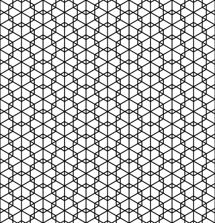Beautiful pattern japanese shoji kumiko, great design for any purposes. Japanese pattern background vector. Japanese traditional wall, shoji.Average thickness lines.