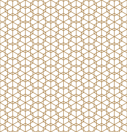 Beautiful Seamless pattern japanese shoji kumiko, great design for any purposes. Japanese pattern background vector. Japanese traditional wall, shoji.Average thickness lines.ROUNDED corners.