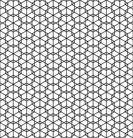 Beautiful pattern japanese shoji kumiko, great design for any purposes. Japanese pattern background vector. Japanese traditional wall, shoji.Average thickness lines.ROUNDED corners.