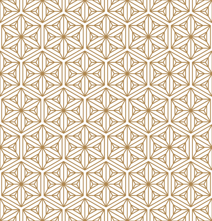 Beautiful Seamless pattern for japanese shoji kumiko, great design for any purposes. Japanese pattern background vector. Japanese traditional wall, shoji.Average thickness lines.