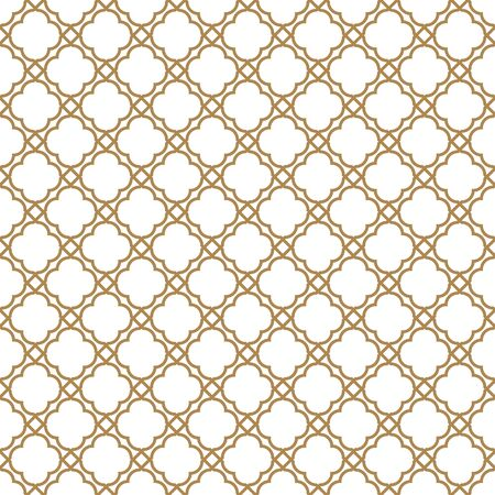 Beautiful geometric pattern, great design for any purpose.Pattern background vector.Thick lines.Gold and white.