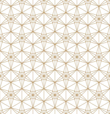 Seamless geometric ornament based on traditional islamic art.Black lines.Great design for fabric, textile, cover, wrapping paper, background, laser cutting.Thin lines. Stock fotó - 155401734