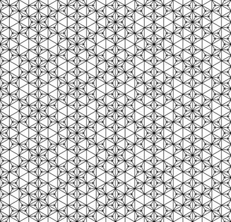 Seamless geometric ornament based on traditional arabic art.Brown color lines.Great design for fabric, textile, cover, wrapping paper, background.Thick lines. Stock fotó - 155401749