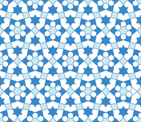 Seamless geometric ornament based on traditional arabic art..Great design for fabric, textile, cover, wrapping paper, background.Thin lines. Stock fotó - 155401752