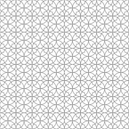 Seamless geometric pattern .Black color fine lines Illusztráció