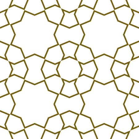 Seamless geometric ornament based on traditional  art.