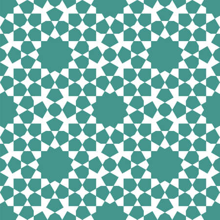 Seamless geometric ornament based on traditional islamic art. Great design for fabric, textile, cover, wrapping paper, background.
