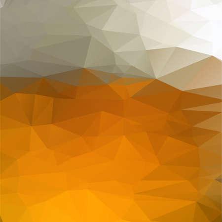 geometrische gele bier achtergrond voor uw ontwerp. vector illustratie