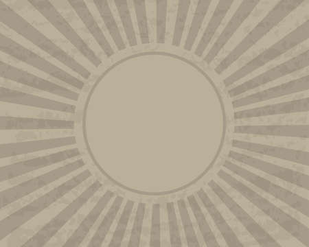 Antique retro background of brown color with the paper texture as a template for different design solutions and concepts in retro style. Illustration