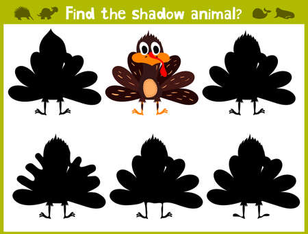 logic: Educational game for children of kindergarten and school age on the development of logic. Birds. Vector illustration