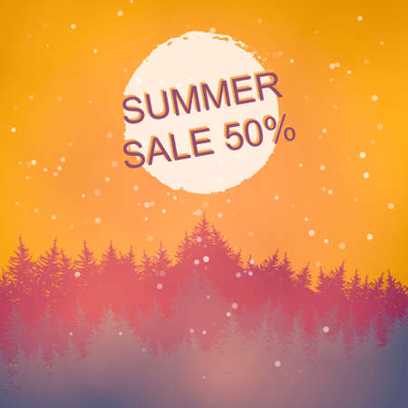 price drop: Isolated colorful discount sticker on white background. Summer discount sale. Illustration