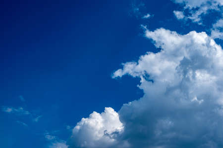blue sky and clouds. amazing blue sky. enviroment background