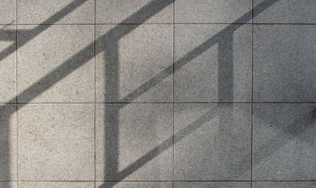 shadows on the ground. abstract texture pattern. lines and symmetry