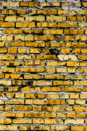 Background And Texture On The Basis Of A Brick Wall Rustic Colored Bricks
