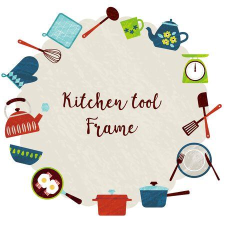 kitchen tools frame.