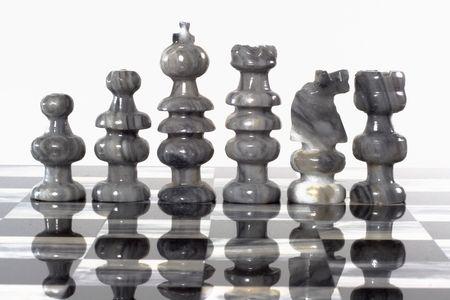 onix: Onyx piedra talladas a mano juego de ajedrez tablero y piezas