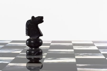 black onyx: Onyx stone hand-carved chess set board and pieces