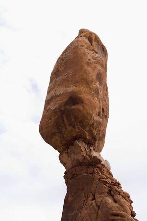 Balanced Rock at Arches National Park, Utah, USA